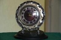 Vintage Soviet Mechanical Watch Mayak Crystal working desk clock USSR