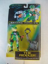 Batman Forever-The Riddler Action Figure in Box Kenner 1995, MOC, Free Shipping!