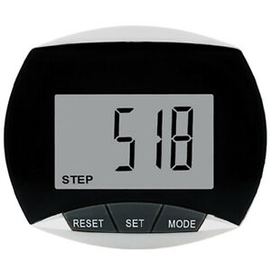 New Walking Step Counter with Belt Clip Multi-functional Pedometer LCD Display
