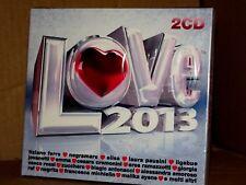 LOVE 2013 Artisti Vari Box 2CD Digipack Pausini,Ferro,Vasco,...NUOVO SIGILLATO