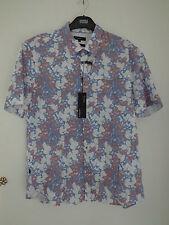 Regular Collar Slim Floral Casual Shirts & Tops for Men