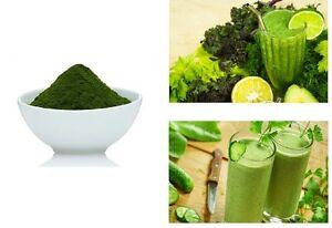 SPIRULINA POWDER PURE 100% Natural Superfood Detox AAA Food Grade 500g 1kg 2-5KG