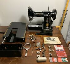 Vintage Featherweight Singer 222k Sewing Machine + Bits&bobs VGC