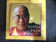 A Simple Path: Basic Buddhist Teachings by Dalai Lama (Hard back, 2000)