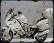 Bmw K1600 Gtl Exclusive 14 4 A4 Metal Sign Motorbike Vintage Aged