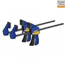 "2 x Dekton 36/"" 900mm Rapid Vice Bar 45kg Clamp Force Quick Grip Ratchet Holder"