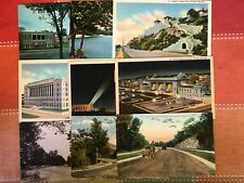 9 Kansas City, Missouri Postcards