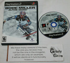 USED Bode Miller Alpine Skiing Sony PS2 (NTSC) -Canadian Seller-