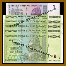 Zimbabwe 1.000.000 Dollars 2008 Unc P.77 Reliable Simbabwe Africa Paper Money: World