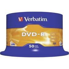 Dvd-r vergine 4.7 gb verbatim 43548 50 pz torre