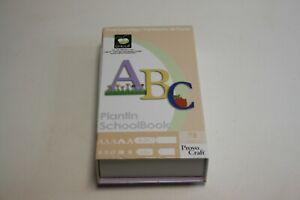 Provo Craft Cricut Font Cartridge Plantin SchoolBook