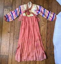 VTG Asian Multi-Color Outfit Dress Korean Hanbok? Soft Decoration Cosplay Lolita