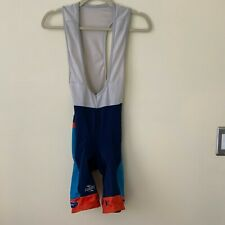 SUAREZ Cycling Jersey Bib Padded Shorts Size Medium