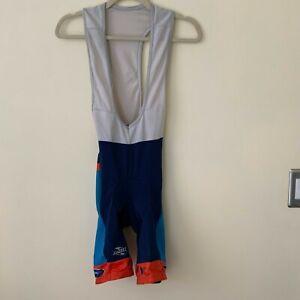 SUAREZ Cycling Jersey Bib Padded Shorts Size Medium