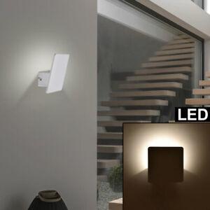 Luxus LED ALU Wand Lampe Treppenhaus Flur Beleuchtung Wohn Zimmer Leuchte weiß