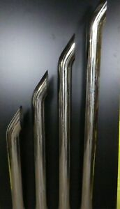 TRUCK STACKS STAINLESS STEEL  6 INCH BY  1220MM LONG