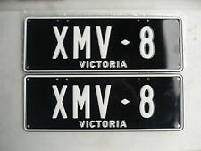 FORD XMV-8 COUPE UTE SEDAN PERSONAL NUMBER PLATES