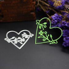 Heart Flower Cutting Dies Stencil DIY Scrapbooking Album Paper Card Embossing