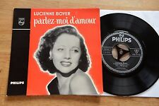 LUCIENNE BOYER parlez-moi d' amour  7 inch single Philips 432319 BE