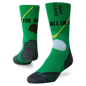 Stance x Happy Gilmore Socks 'Happy Hips' | S | Crew | Feel 360 | New With Tags