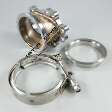 """T25 T28 GT25 GT28 Turbo Downpipe Flange To 2.5""""  V-Band Clamp Adaptor SS T-304"""