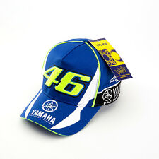 Hot Motorcycle Racing Moto GP Embroidered Baseball Cap Hat Yamah Hat Blue