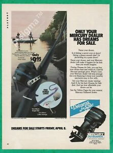 MERCURY outboards - Dreams for Sale 1983 Vintage Print Ad # 127 6