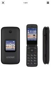 Unlocked GSM Cricket Alcatel SmartFlip 4G LTE WiFi,FM Radio.no Sprint,no Boost M
