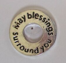 zzc May Blessings surround FRIENDSHIP FAITH CHARM pocket token washer pendant