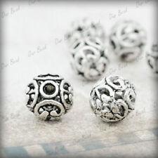 Alloy Tibetan Silver Round Jewellery Making Beads