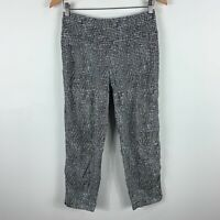 The Ark Australia Womens Pants Medium Grey Elastic Waist Stretch High Waist