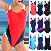 2019 Women's One Piece Monokini Swimwear Racing Sports Bathing Training Swimsuit
