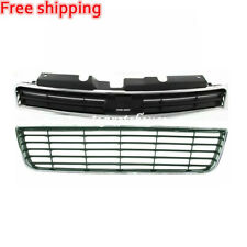 New For CHEVROLET IMPALA Fits 2006-2011 Front Bumper Upper & Lower Grille 2pc
