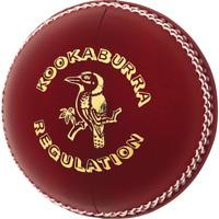 Match Quality cricket ball for 50 overs 5.5 oz-A Grade KookaBurrra Cricket Balls