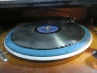 Vintage Telefunken Plattenspieler 1938 Sehr Selten