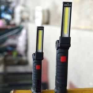 USB COB LED Magnetic Work Light Car Garage Mechanic Rechargeable Torch Hot Sale