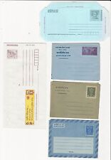 India: Lot Postal Stationery, Aerograms different. good, VF, IN39