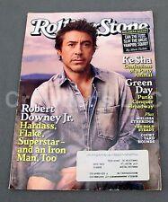 Rolling Stone RS 1104 May 13 2010 Robert Downey Jr Ke$ha Green Day Goldman Sachs