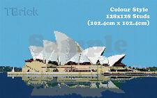 TOYBRICK - Build Your Own Custom Mosaic Art 128x128 STUDS - Colour Style