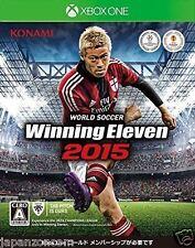 USED Xbox one World Soccer Winning Eleven 2015 JAPANESE  IMPORT MICROSOFT