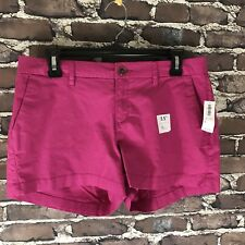 New Old Navy Womens Bermuda Walking Shorts Size 6 Pink Chino Casual Shorts NWT