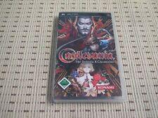 Castlevania The Dracula X Chronicles para Sony PSP * embalaje original *