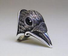Onyx Handmade Silver Plated Fashion Rings