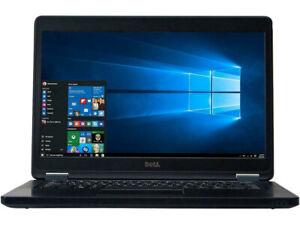 "Dell Latitude E5450 14"" Laptop Intel i7-5600U 2.60GHz 8GB RAM 500GB HDD Wins10P"
