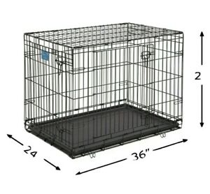 """Midwest 36"""" Double Door Foldable"""