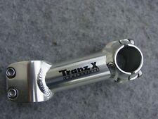 """STYX A-Haed Vorbau 1/"""" Silber Matt 75 mm Neigung 35° für 25,4 Lenker neu"""