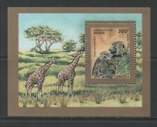 Thematic Stamps Animals - BENIN 1995 MONKEYS MS mint