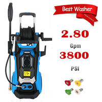 3800PSI 2.8GPM Electric Pressure Washer Powerful Cleaner Water Sprayer Machine^