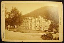 Photo c 1900   Czech Republic: Marienbad, Central-Bad  Photographie ancienne