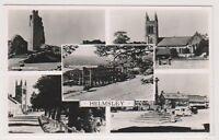 Yorkshire (North) postcard - Helmsley (Multiview showing 5 views) - RP - P/U